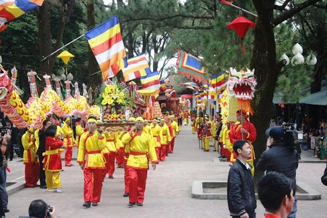 Con Son-Kiep Bac Spring Festival opens in Hai Duong 2