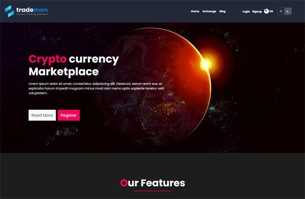 Trademen - Ultimate Exchange 2, Live Trading, Tradingview, banking, kyc, market exchange