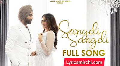 SANGDI SANGDI Song Lyrics Hindi | TARSEM JASSAR | New Punjabi Song 2020