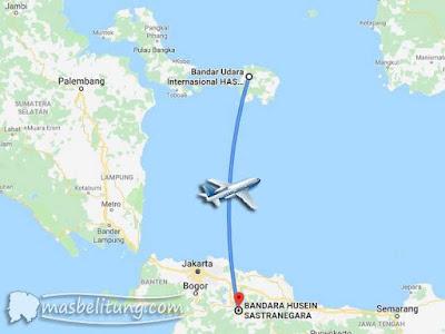 Penerbangan Belitung-Bandung