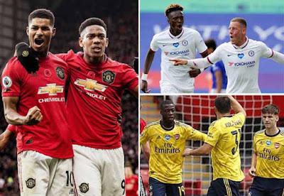 """MU, Chelsea, Arsenal vào bán kết FA Cup: Ăn cúp hay đua top 4 """"ngon"""" hơn? 2"""