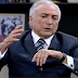 MDB quer candidato próprio a presidente, diz Temer em programa de TV