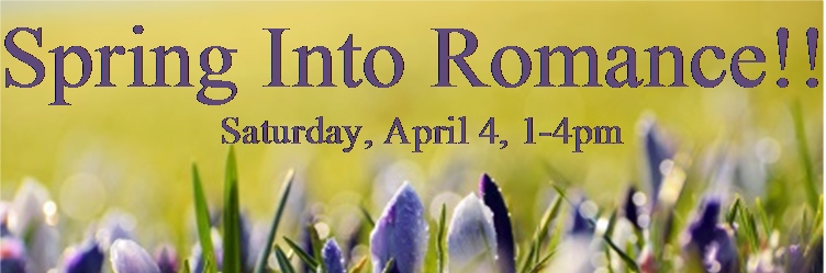 Spring Into Romance 2015 Flyer