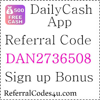 Daily Cash App Referral Code, Invite Code, Sign Up Bonus and Reviews 2021-2021