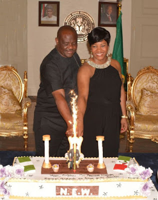 Nyesom Wike the Rivers State Governor
