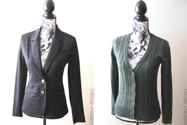 Costa Blanca Fashion clothing haul cardigan blazer