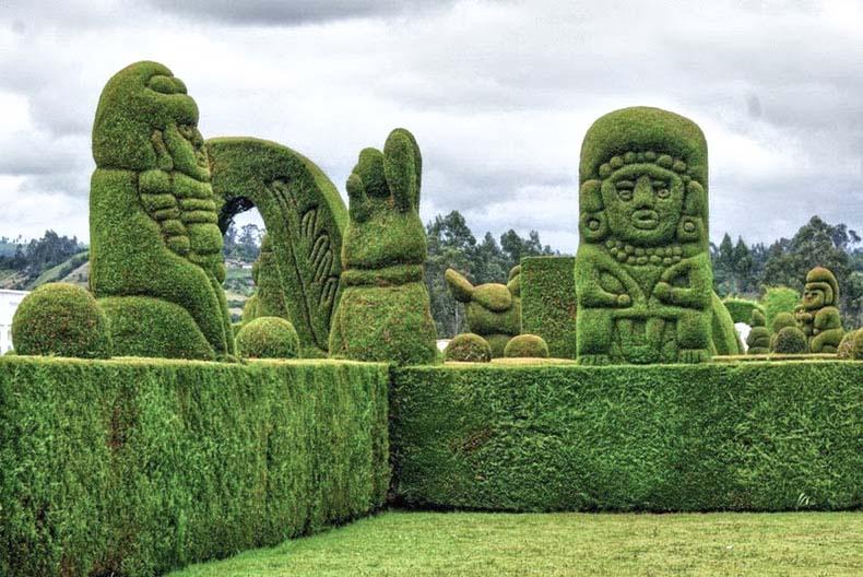 El cementerio topiario de Tulcán | Ecuador