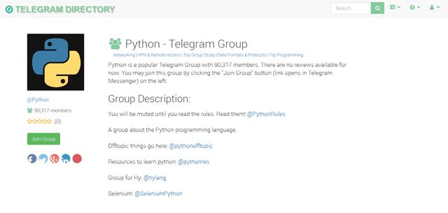 cara gabung grup telegram dari tdirectory