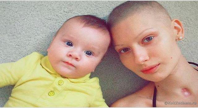 Врачи сказали беременной модели сделать аборт после того, как ей удалили 95% челюсти из-за рака…