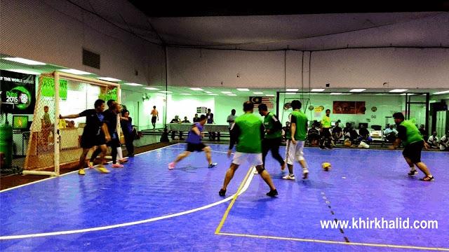 Futsal jemputan The Beat Of Youth 4UTC