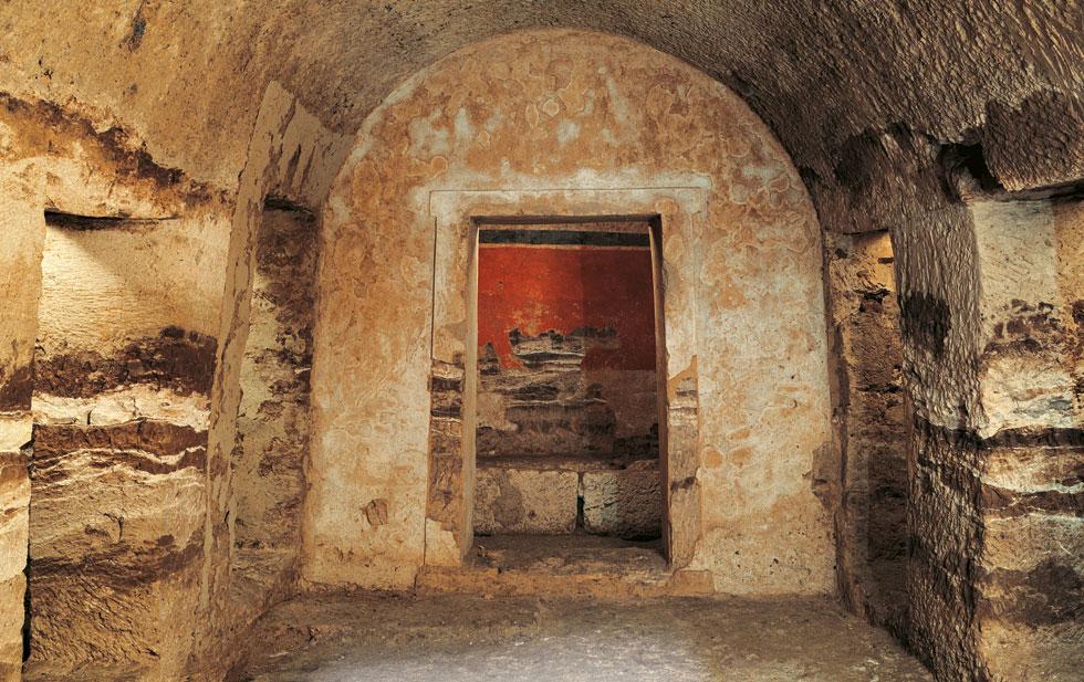 Unique Macedonian tomb in ancient Pella opens to public ...