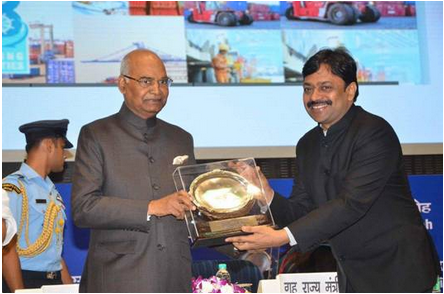 jn-port-trust-wins-rajbhasha-kirti-awards-paramnews-2016