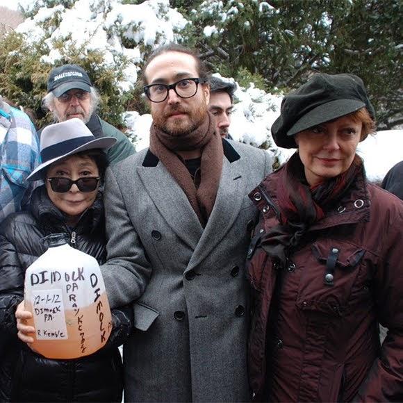 Gaz de schiste : Ono, Lennon et Sarandon sur le terrain