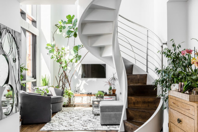 Desain Tangga Ruang Sempit Modern