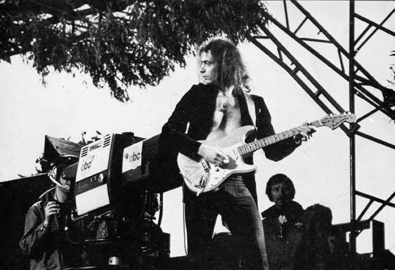 Ο κιθαρίστας Ritchie Blackmore