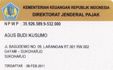 Hanya 2 Berkas Untuk Syarat Pendaftaran Npwp Wajib Pajak