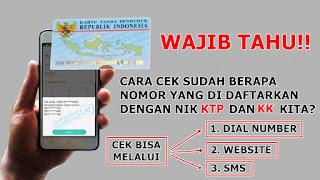 Cara Cek Nomor Registrasi Kartu SIM Prabayar Semua Operator yang Sudah Terdaftar