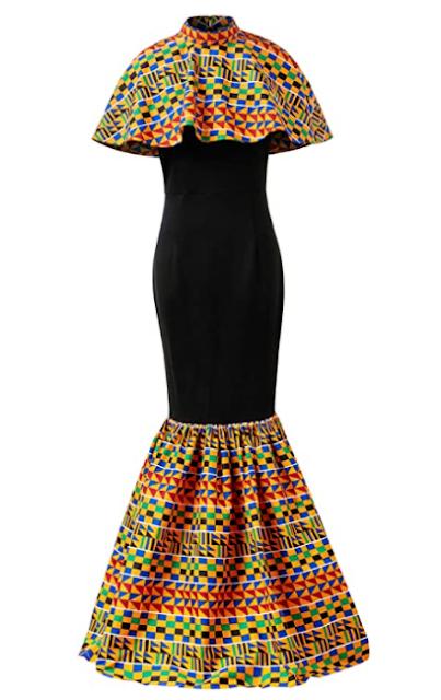 HongyuAmy African Print Womens Ankara Kente Dress