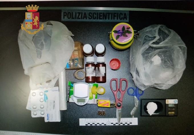 Controlli della Polizia nel fine settimana: una denuncia per droga e sanzioni