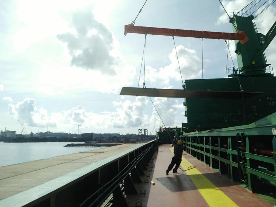 Perusahaan Bongkar Muat Pelabuhan Batu Ampar