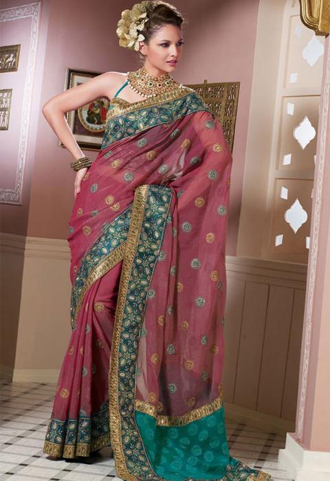 jual baju sari india asli
