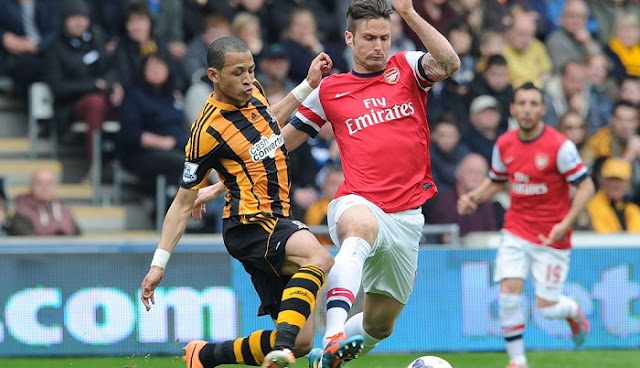 Arsenal vs Hull City en vivo
