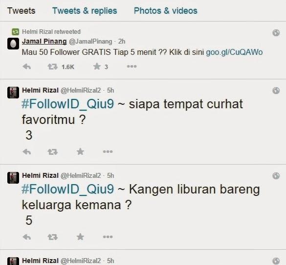 Cara Mudah Mengatasi Retweet dan Follow Otomatis di Twitter