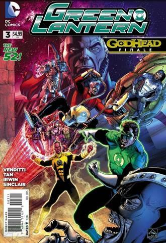 Nuevos Dioses vs Green Lantern