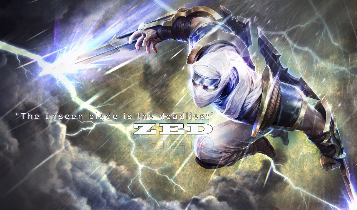 Zed League Of Legends Wallpaper Zed Desktop Wallpaper
