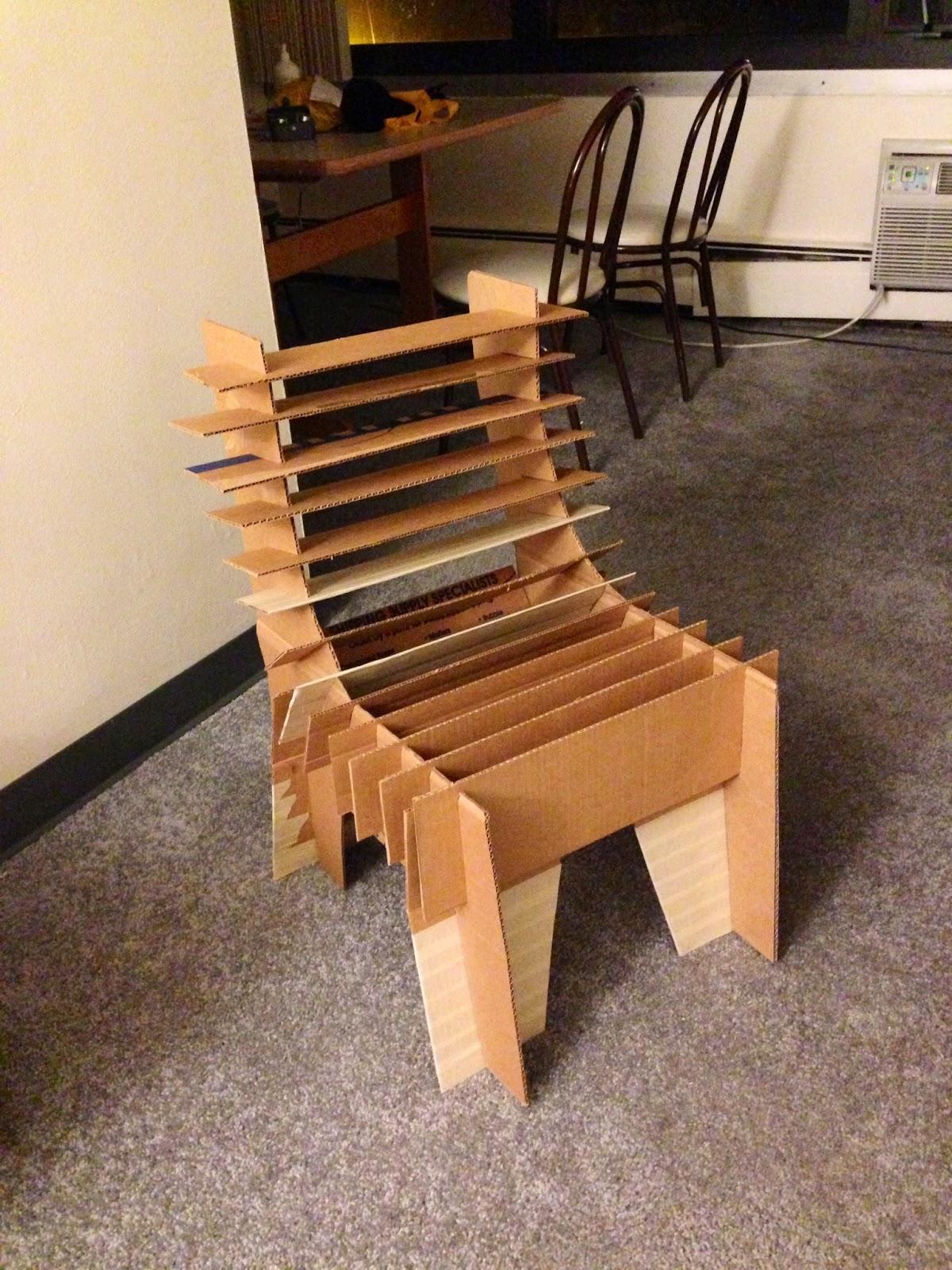 RC SCULPTURE Cardboard Chair