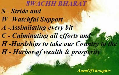 Aura-of-thoughts-Swachh Bharat