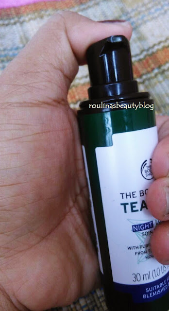 Review The Body Shop Tea Tree Night Lotion Soin The Nuit