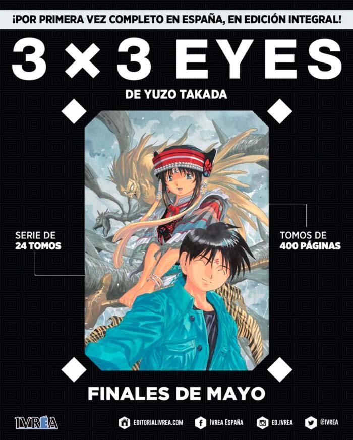 3x3 Eyes Ivrea