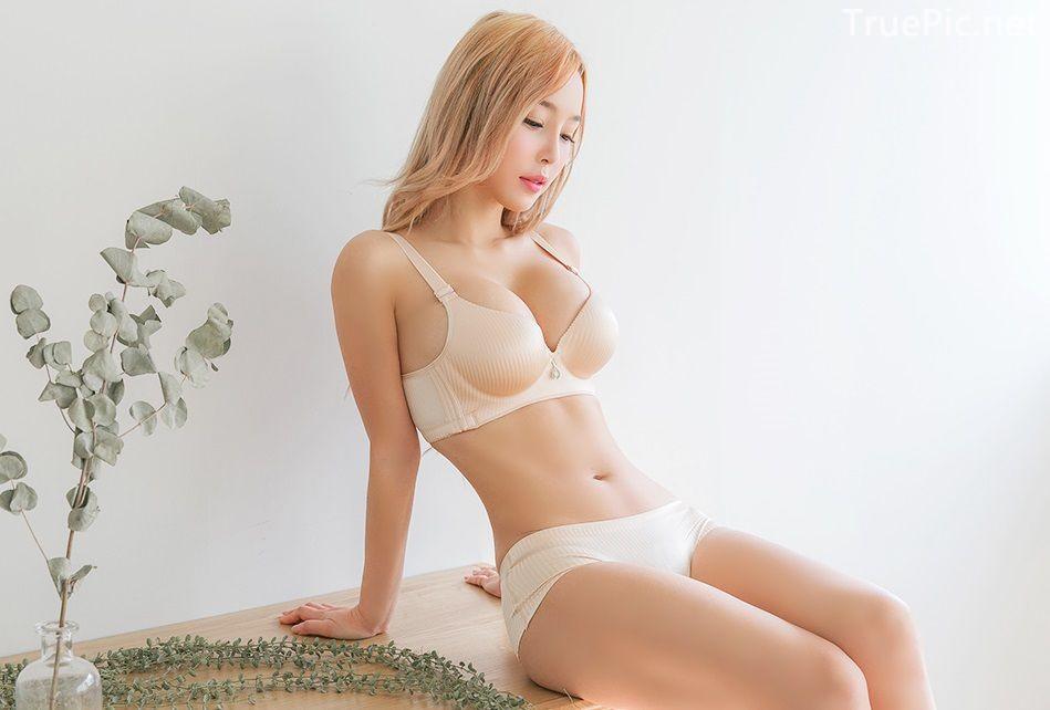 Korean fashion model - Lee Ji Na - The Push Up Lingerie - TruePic.net- Picture 2