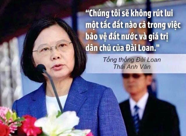 Kinh ngạc với bài phát biểu của nữ Tổng thống Đài Loan