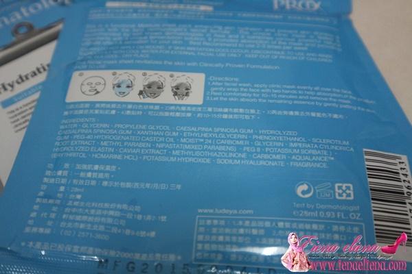 Hydrating Face Mask Tanpa Kandungan Asid