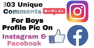 Best Comments for Boys Pic On Instagram