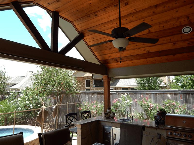 Custom Outdoor Patio Construction DFW 5