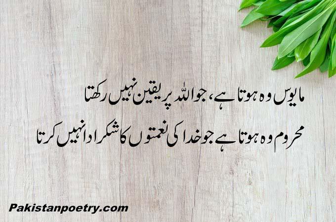 Beautiful Islamic Poetry (Urdu Hindi English)