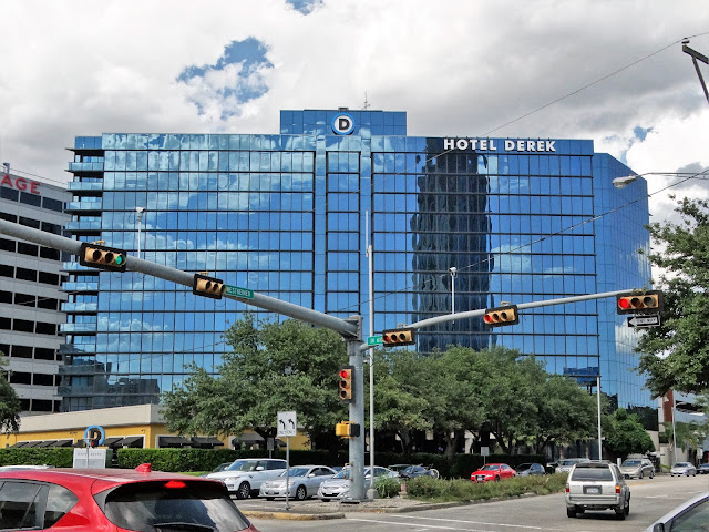Hotel Derek in the NE corner of Westheimer and West Loop