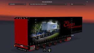 Trailer E.Schwertransporte Jumbo 6A