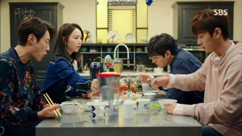 Screenshot Joon Jea House Funny Scene The Legend Of The Blu Sea (2016)  1080p Episode 11 - www.uchiha-uzuma.com