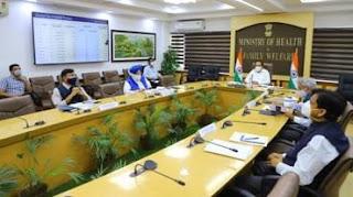 डॉ. हर्षवर्धन ने कोविड-19 पर मंत्रियों के समूह की 25वीं बैठक की अध्यक्षता की   स्वास्थ्य मंत्री ने नागरिकों से कोविड वैक्सीन की दूसरी डोज न छोड़ने की