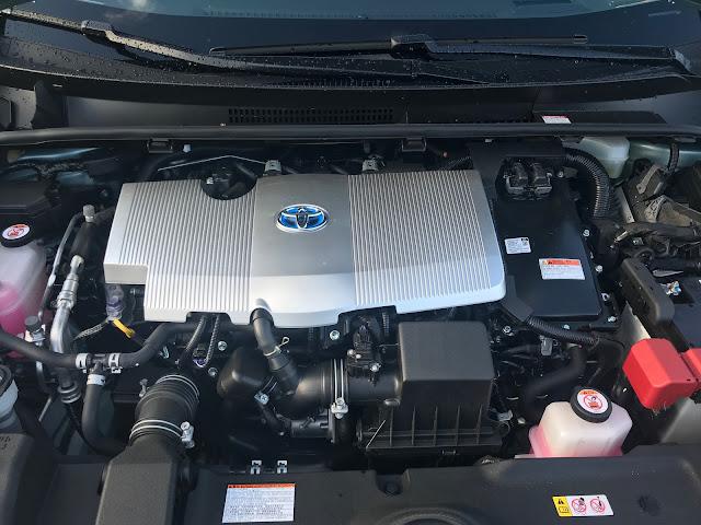 Hybrid powerplant in 2020 Toyota Prius
