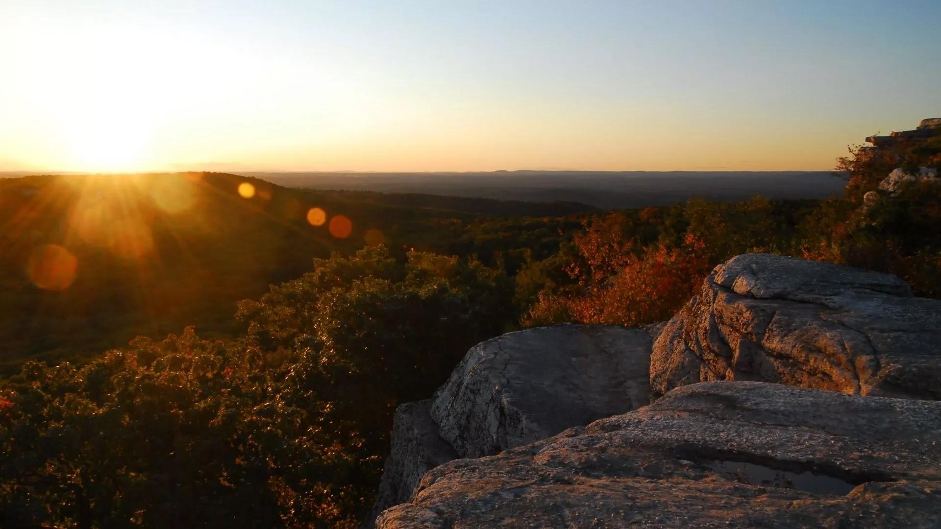 New York Upstate evening image