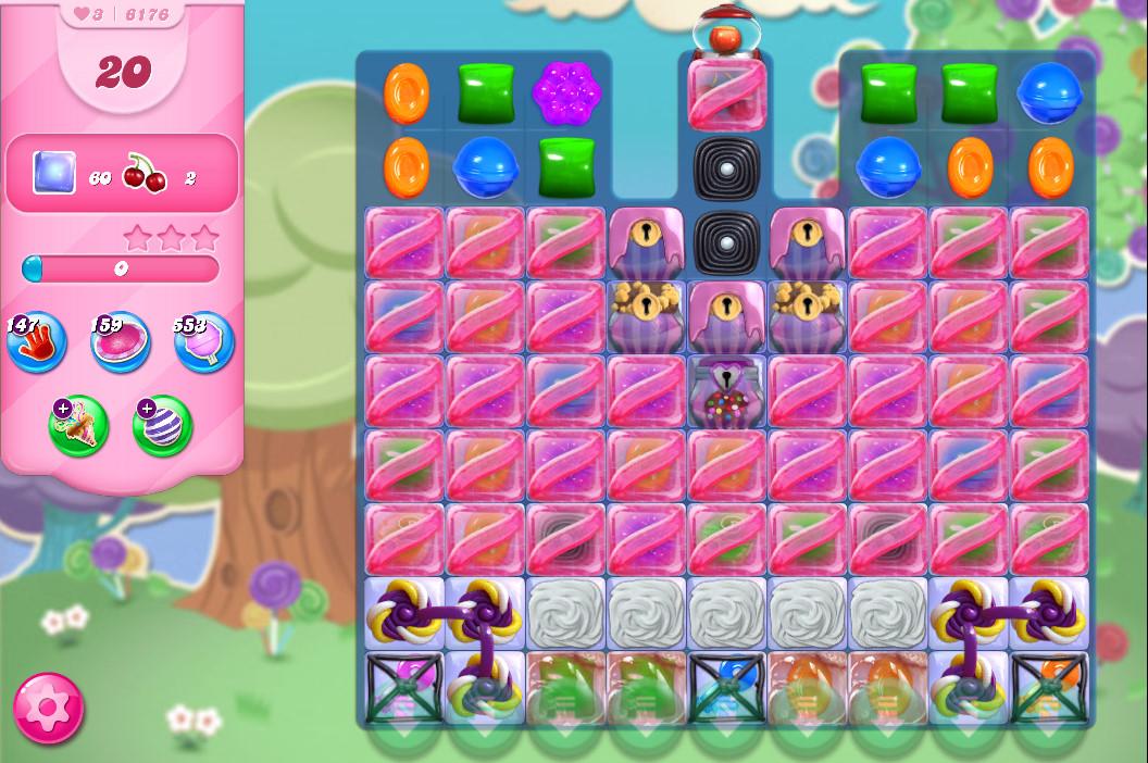 Candy Crush Saga level 6176