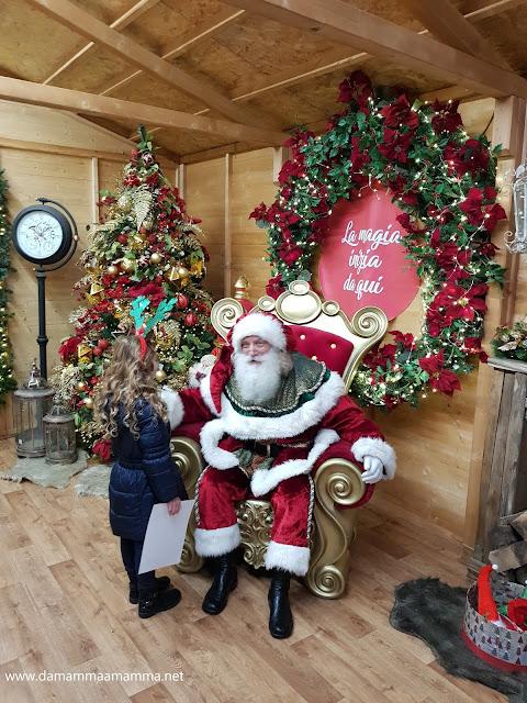 Villaggio di Natale Flover Babbo Natale