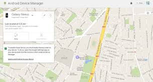 Android Device Manager Location access is turned off