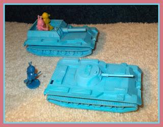 Airborne SPG; Airborne Tank; Airbourne Self-Propelled Gun; Alien Novelties; Aliens; APC; ASU-57; BMD-1; BMP-1; BTR-50; Bug-Eyed Aliens; Giant Aliens; Giant Corp N.Y.N.Y.; Giant Of Hong Kong; Giant of New York; Giant Plastics Corp.; MICV; MT-LB; Russian AFV's; Russian Tank; Self-Propelled Gun; Small Scale World; smallscaleworld.blogspot.com; Soviet AVF's; Soviet Plastic Toy; Space Tanks;