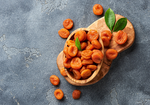 Health benefits of dried apricots